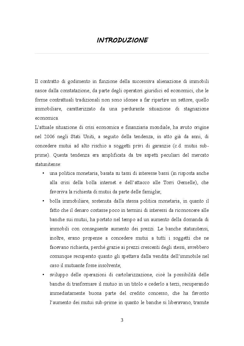 Anteprima della tesi: Profili civilistici e fiscali del Rent to Buy, Pagina 2
