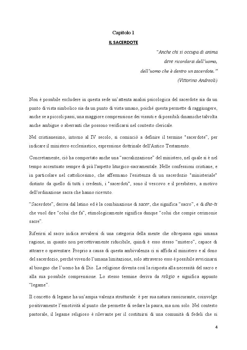 Anteprima della tesi: Non nel mio nome. La pedofilia nel clero., Pagina 5
