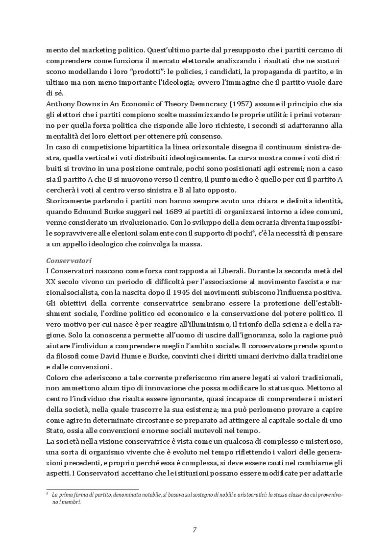 Anteprima della tesi: Elezioni e partiti in Gran Bretagna: l'evoluzione del sistema partitico alla luce delle elezioni del 2017, Pagina 6