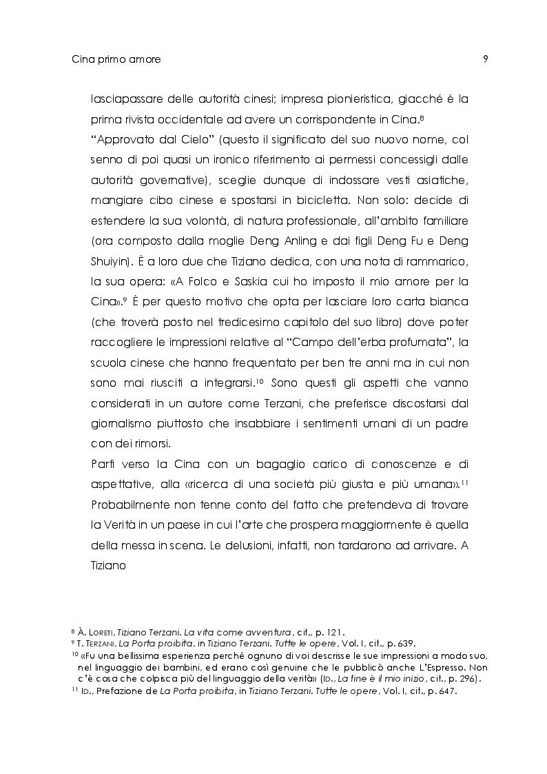 Estratto dalla tesi: Tiziano Terzani. Viaggio introspettivo alla ricerca della Verità.