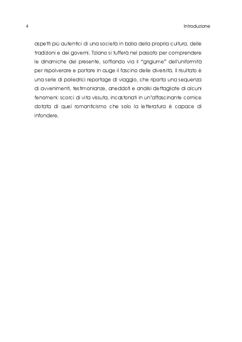 Anteprima della tesi: Tiziano Terzani. Viaggio introspettivo alla ricerca della Verità., Pagina 6