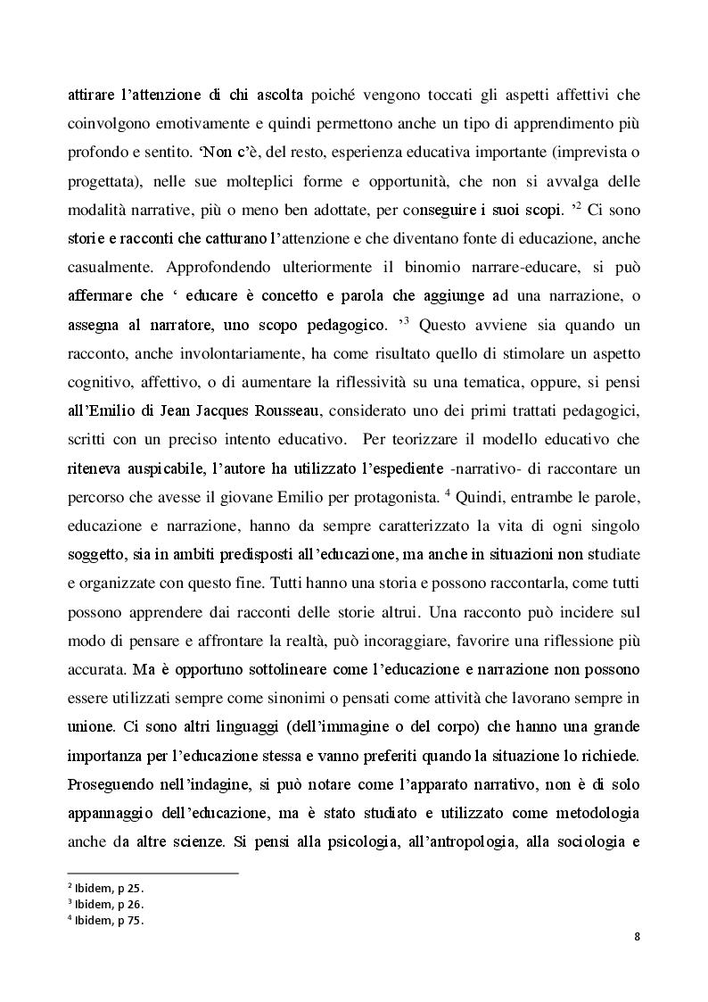 Anteprima della tesi: Il metodo autobiografico come strumento per la ri-progettazione esistenziale, Pagina 5