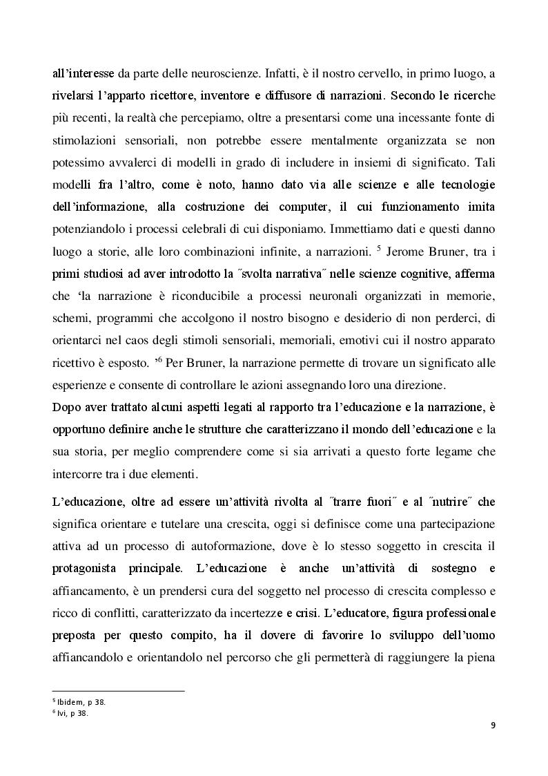 Anteprima della tesi: Il metodo autobiografico come strumento per la ri-progettazione esistenziale, Pagina 6