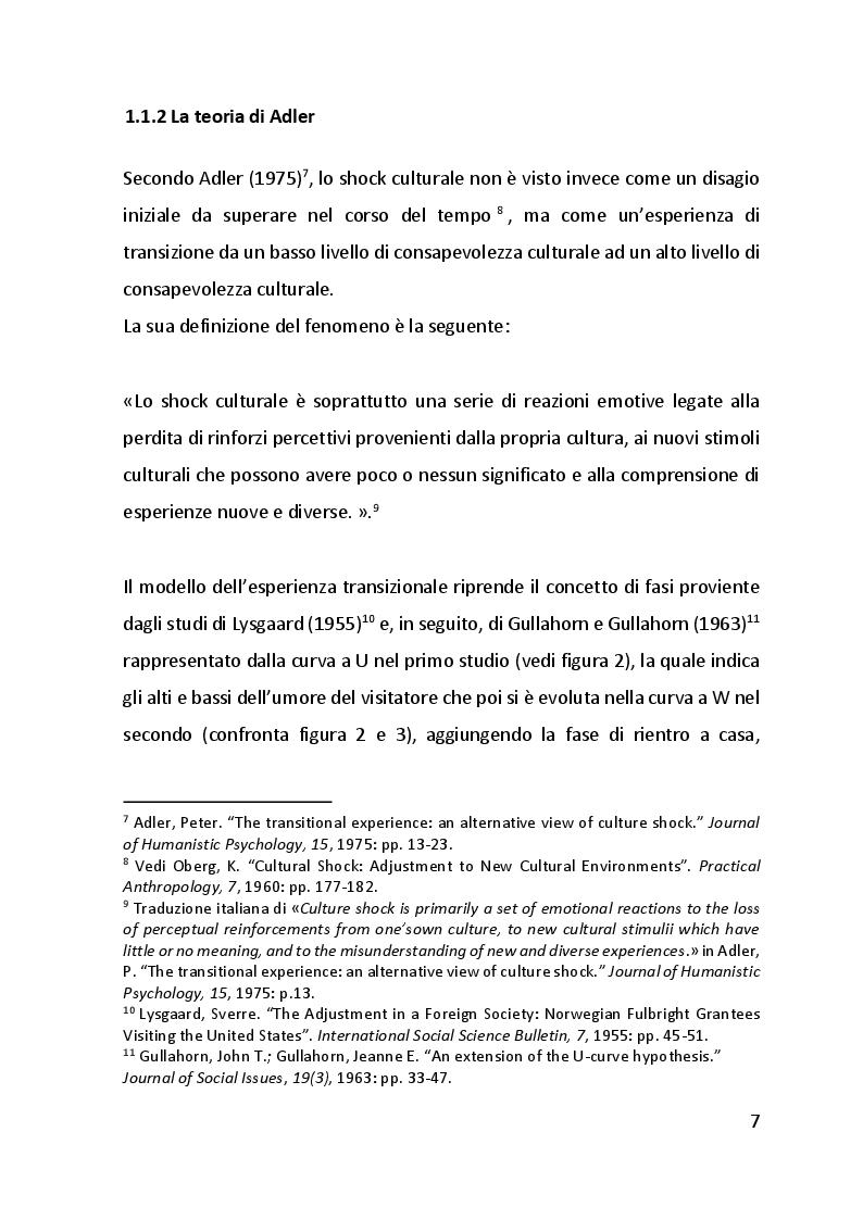 Anteprima della tesi: Lo shock culturale. Integrarsi in nuove culture. Uno sguardo sul contesto cinese., Pagina 8