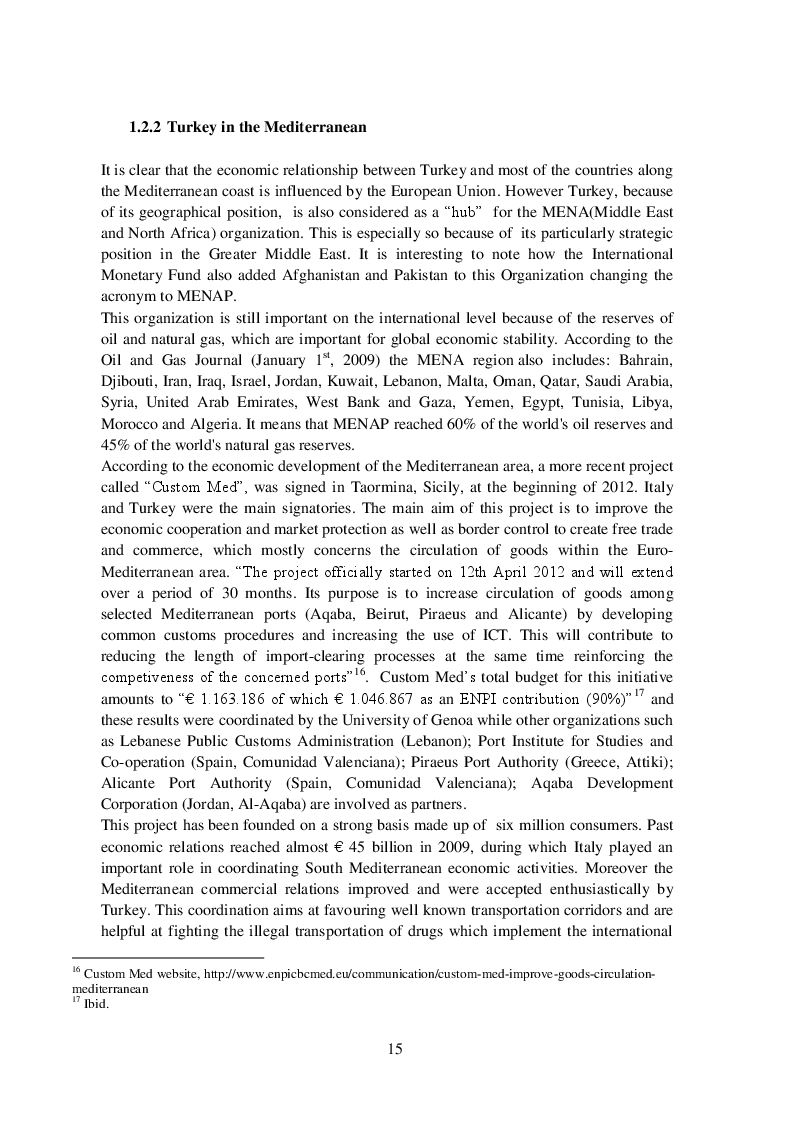 Anteprima della tesi: The evolution of Islamic Finance. The case of Turkey, Pagina 5