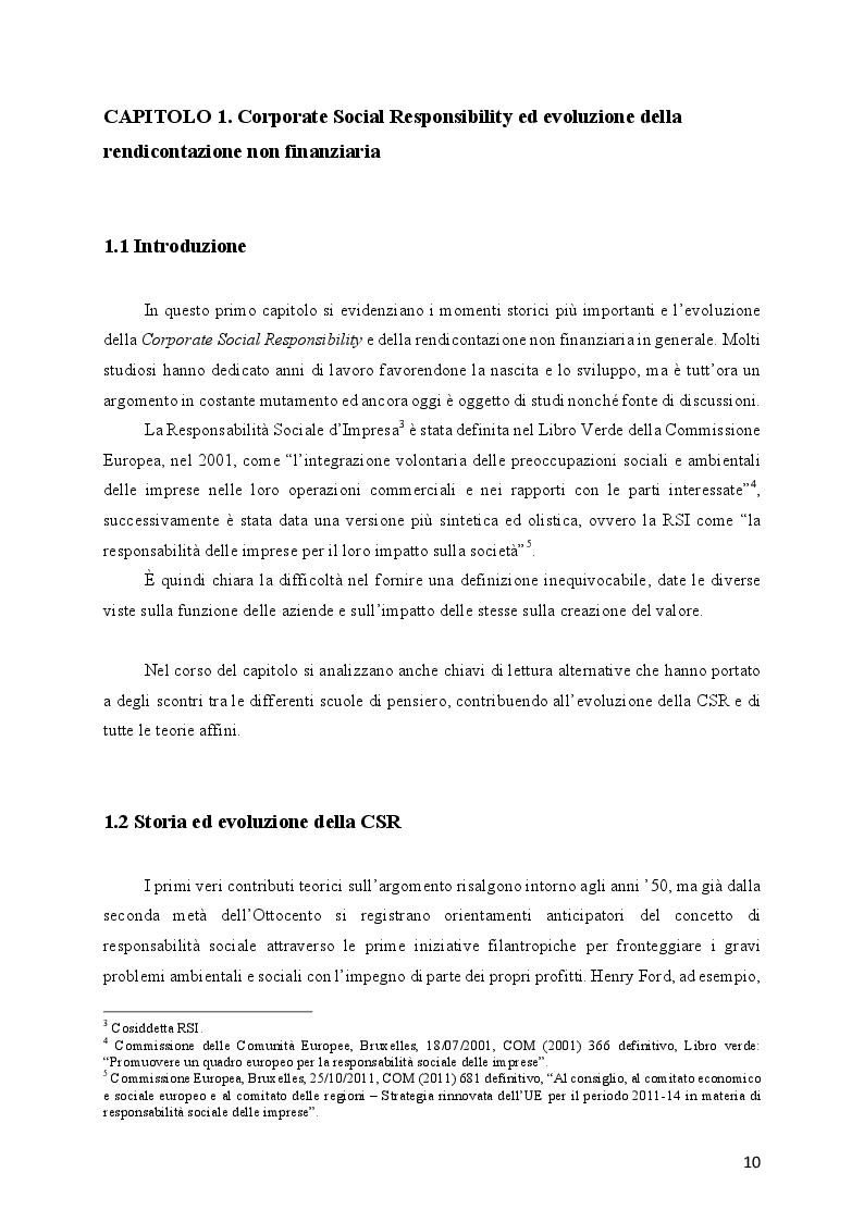 Anteprima della tesi: L'evoluzione della Responsabilità Sociale verso il Valore Condiviso: il caso Telecom, Pagina 6