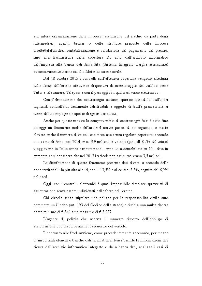 Estratto dalla tesi: La frode Rca in Italia. Un'analisi dei modus operandi e delle possibili misure preventive