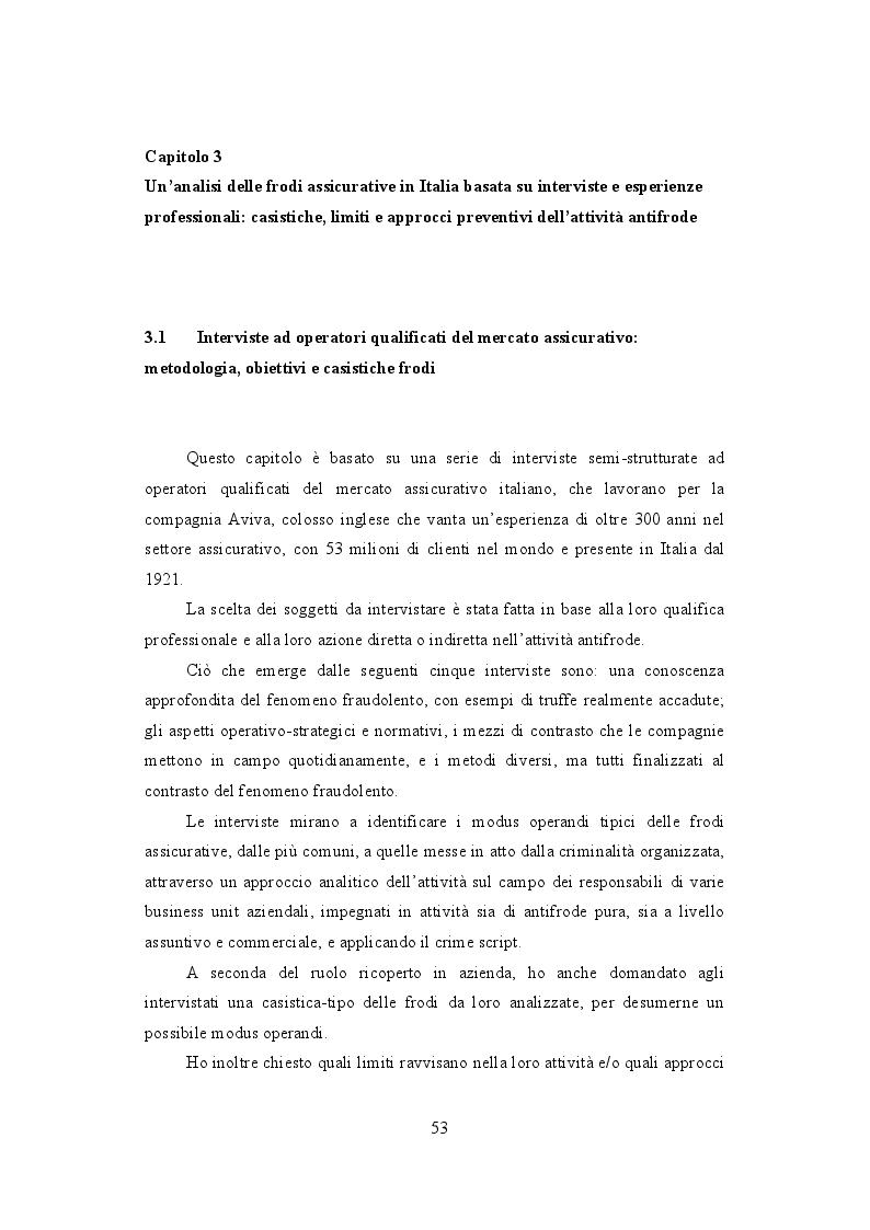 Anteprima della tesi: La frode Rca in Italia. Un'analisi dei modus operandi e delle possibili misure preventive, Pagina 2