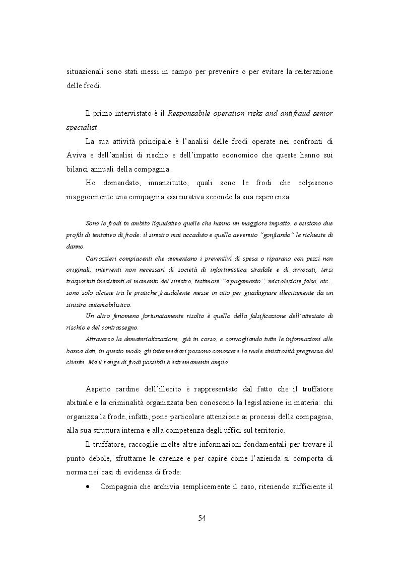 Anteprima della tesi: La frode Rca in Italia. Un'analisi dei modus operandi e delle possibili misure preventive, Pagina 3