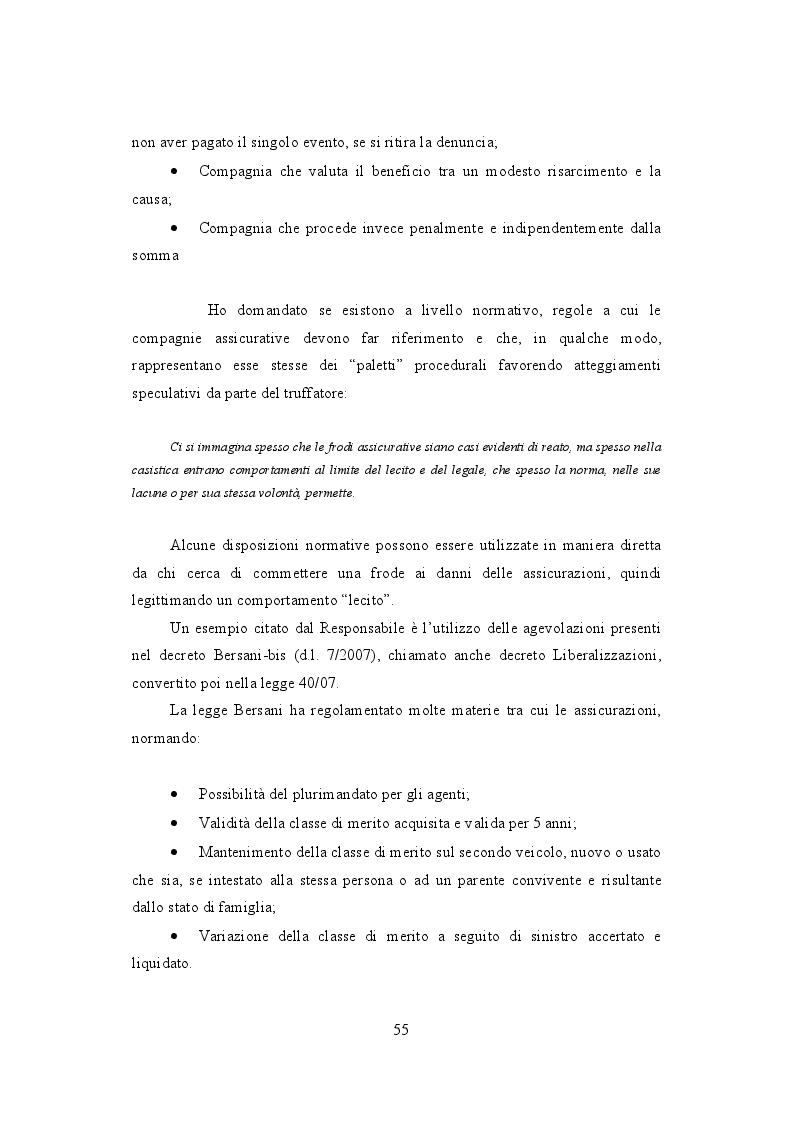 Anteprima della tesi: La frode Rca in Italia. Un'analisi dei modus operandi e delle possibili misure preventive, Pagina 4