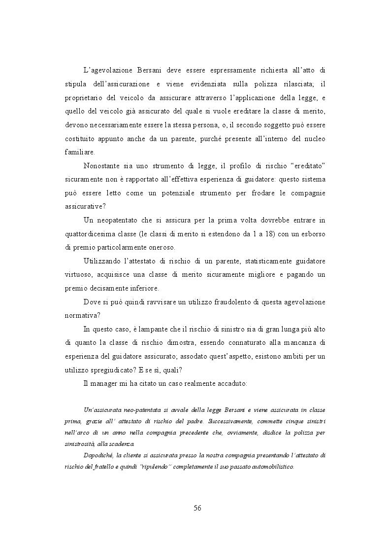 Anteprima della tesi: La frode Rca in Italia. Un'analisi dei modus operandi e delle possibili misure preventive, Pagina 5