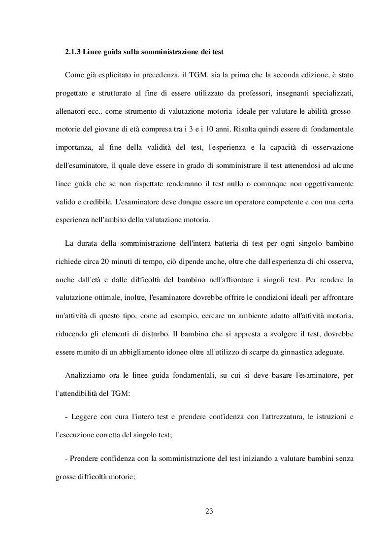 Anteprima della tesi: La Valutazione Funzionale in Età Giovanile, Pagina 2