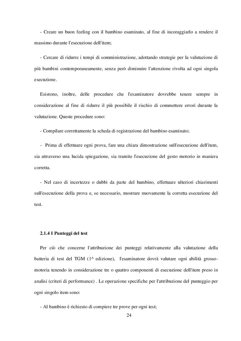 Anteprima della tesi: La Valutazione Funzionale in Età Giovanile, Pagina 3