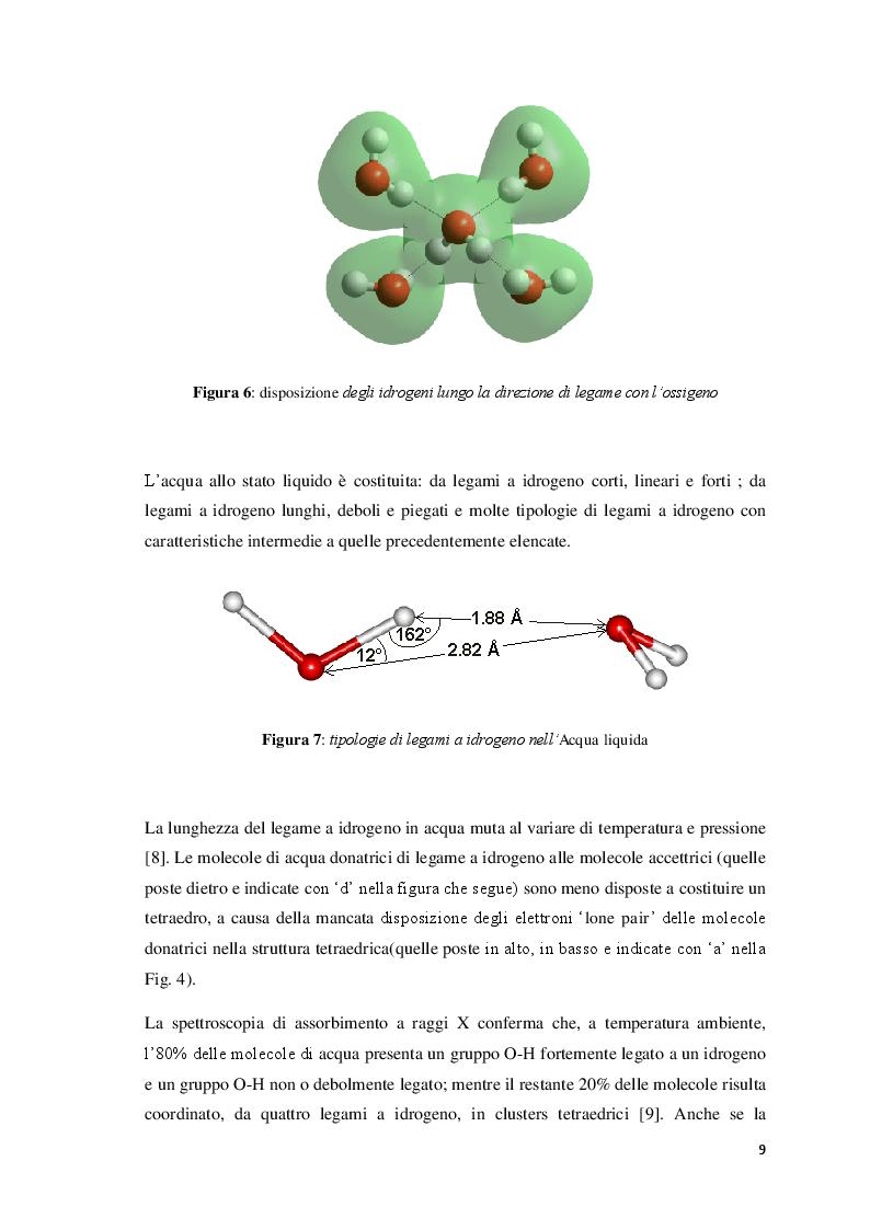 Anteprima della tesi: Effetto di radiazioni elettromagnetiche su alcune proprietà dell'acqua, Pagina 5