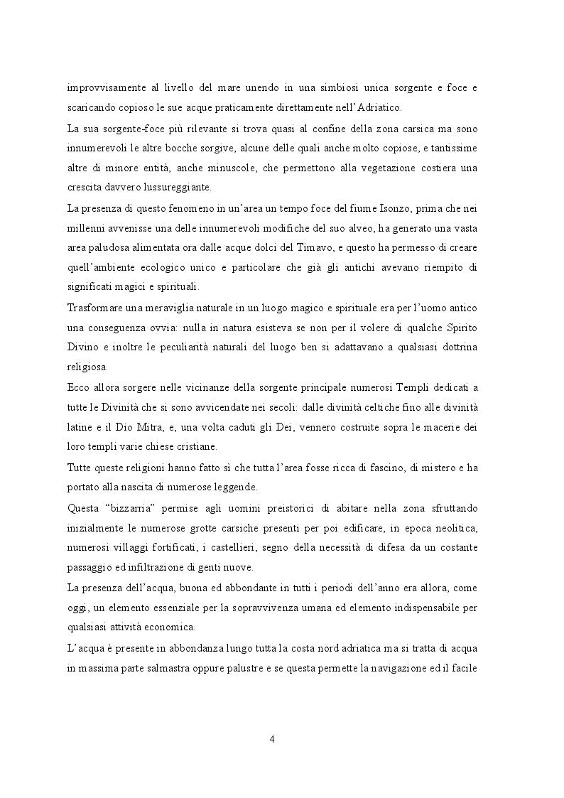 Anteprima della tesi: Portopiccolo: una nuova opportunità turistica per il Nord-Adriatico, Pagina 3