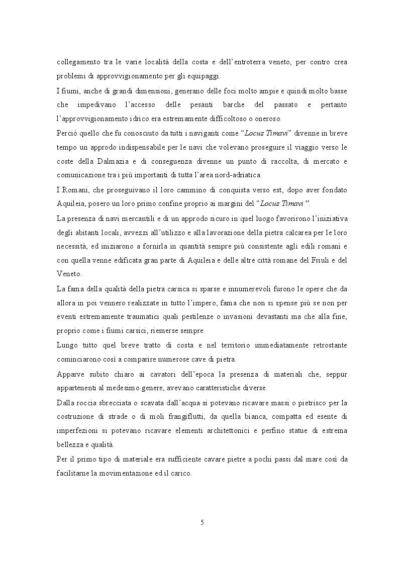 Anteprima della tesi: Portopiccolo: una nuova opportunità turistica per il Nord-Adriatico, Pagina 4