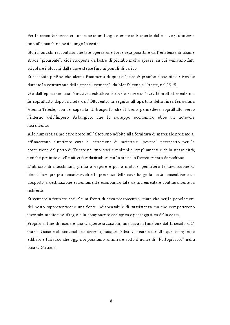 Anteprima della tesi: Portopiccolo: una nuova opportunità turistica per il Nord-Adriatico, Pagina 5