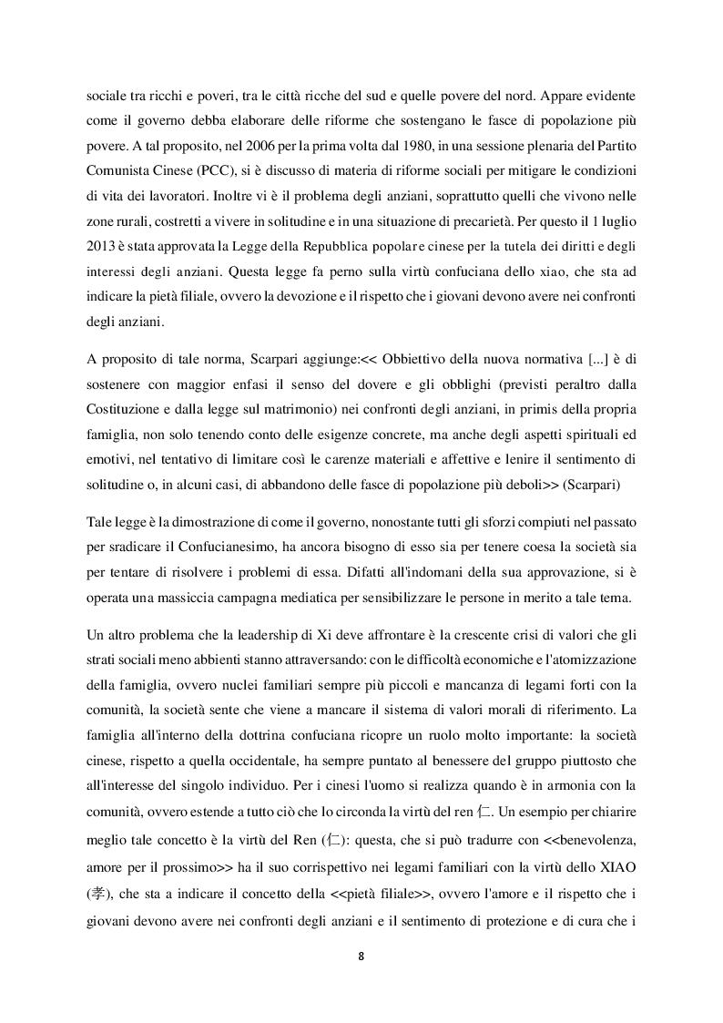 Estratto dalla tesi: Democrazia Confuciana: la proposta di Jiang Qing