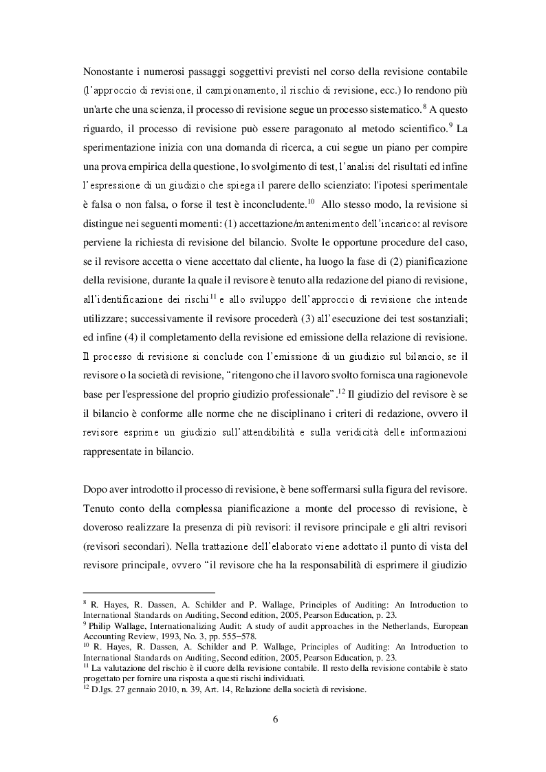 Anteprima della tesi: Revisione del bilancio consolidato nei gruppi di imprese: il principio di revisione ISA Italia 600, Pagina 3