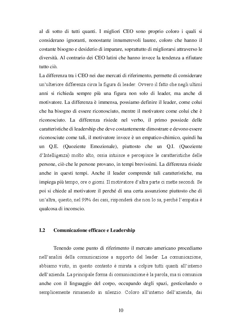 Anteprima della tesi: La figura dei CEO e la comunicazione lo sviluppo del concetto di CEO branding: reputazione e personalità, Pagina 6