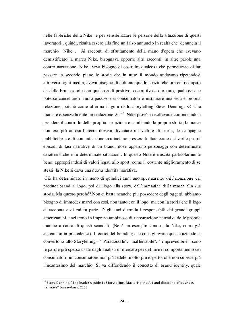 Anteprima della tesi: Strategie di Marketing, il Ruolo dello Storytelling dalla nascita ai Canali Digitali odierni, Pagina 5