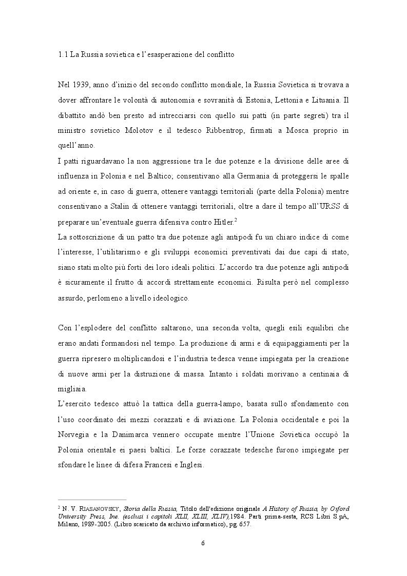 Anteprima della tesi: GENNAIO 1943: La ritirata degli alpini di Russia nelle memorie di un testimone, Pagina 4