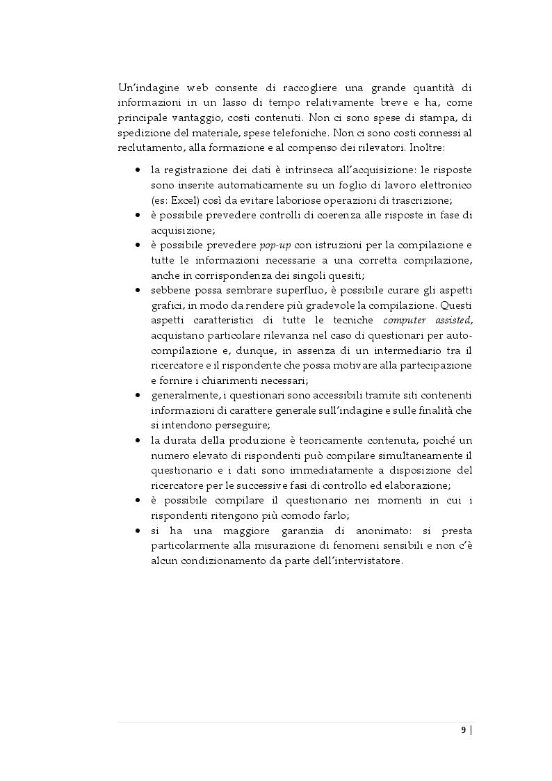 Estratto dalla tesi: Indagine statistica - Uso dello smartphone e delle tecnologie digitali