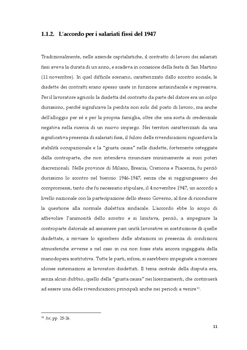 Estratto dalla tesi: La contrattazione collettiva in agricoltura e il fenomeno del caporalato