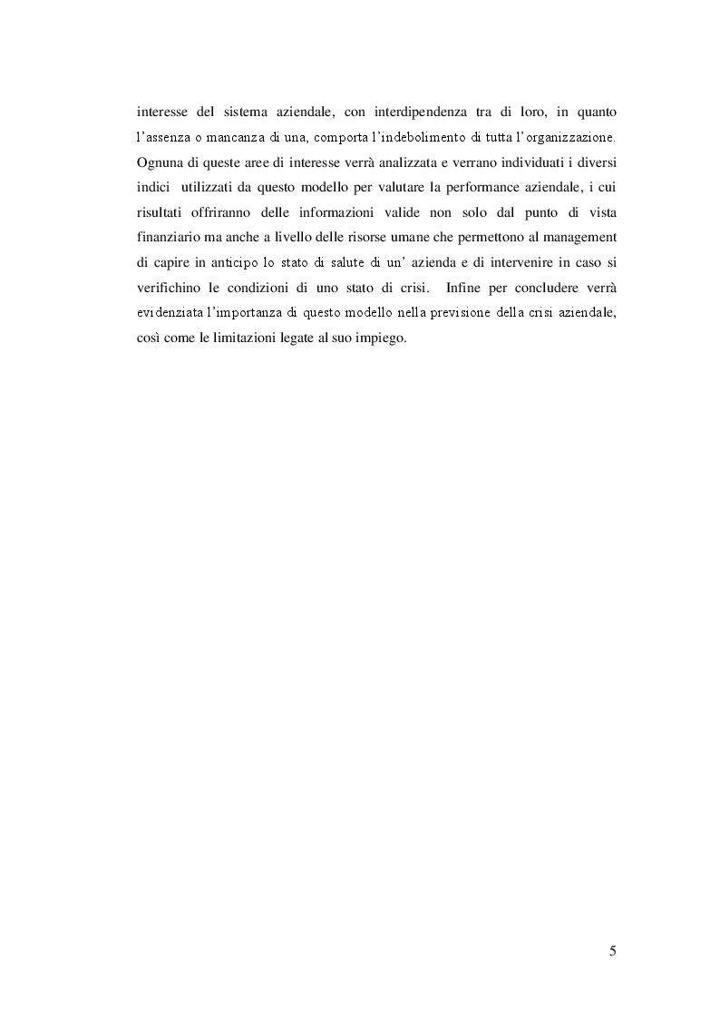 Anteprima della tesi: Lo Skandia Navigator per la previsione della crisi aziendale, Pagina 4