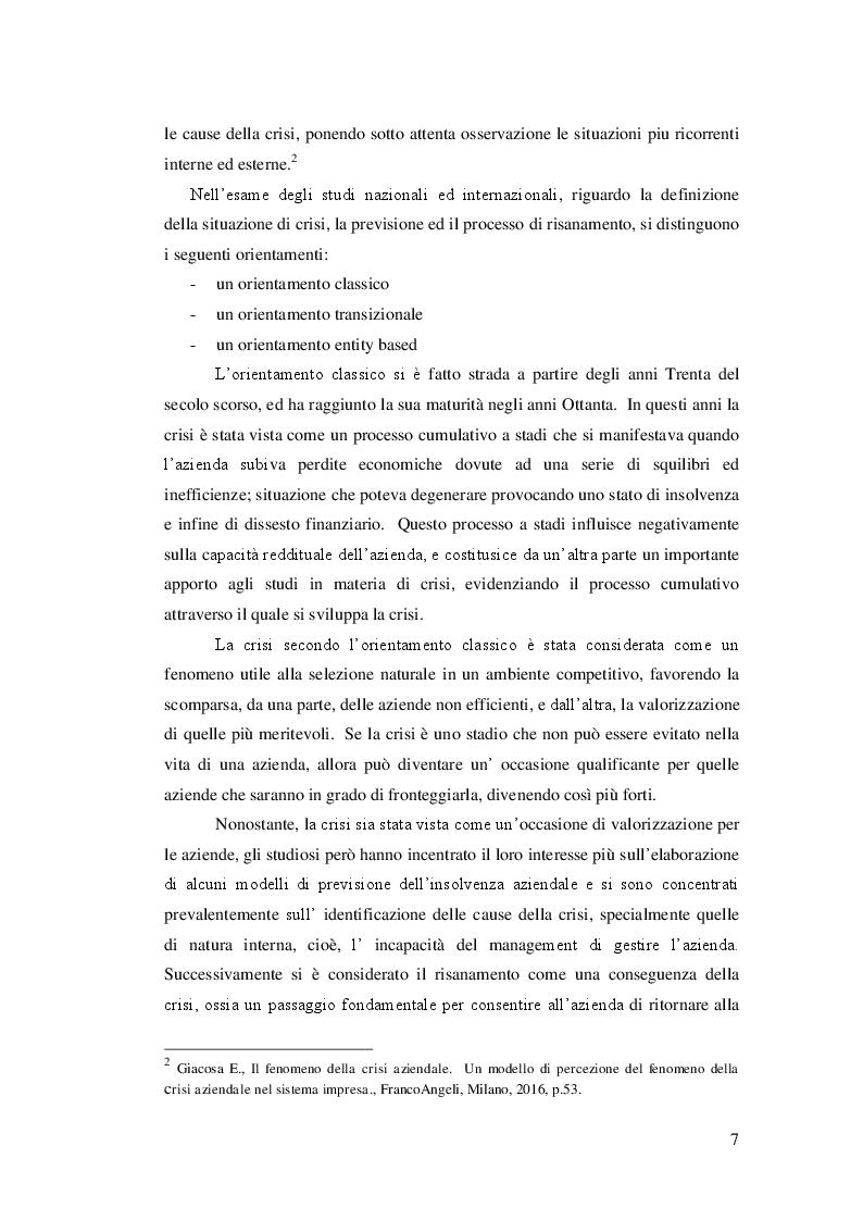 Anteprima della tesi: Lo Skandia Navigator per la previsione della crisi aziendale, Pagina 6