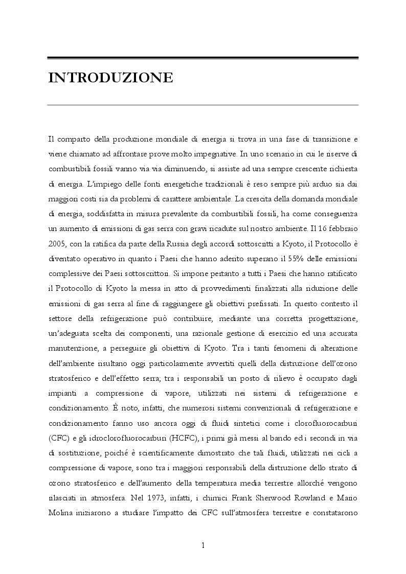 Anteprima della tesi: Analisi teorica e sperimentale di una pompa di calore ad anidride carbonica per asciugatrici domestiche, Pagina 2