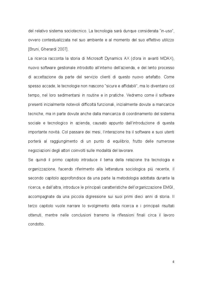Anteprima della tesi: Tecnologia, organizzazione e lavoratori: il caso studio dell'EM Group, Pagina 3