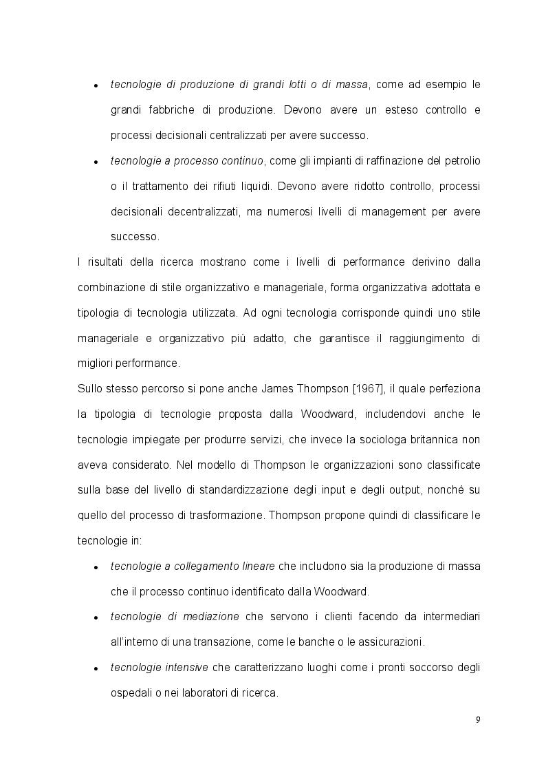 Anteprima della tesi: Tecnologia, organizzazione e lavoratori: il caso studio dell'EM Group, Pagina 6