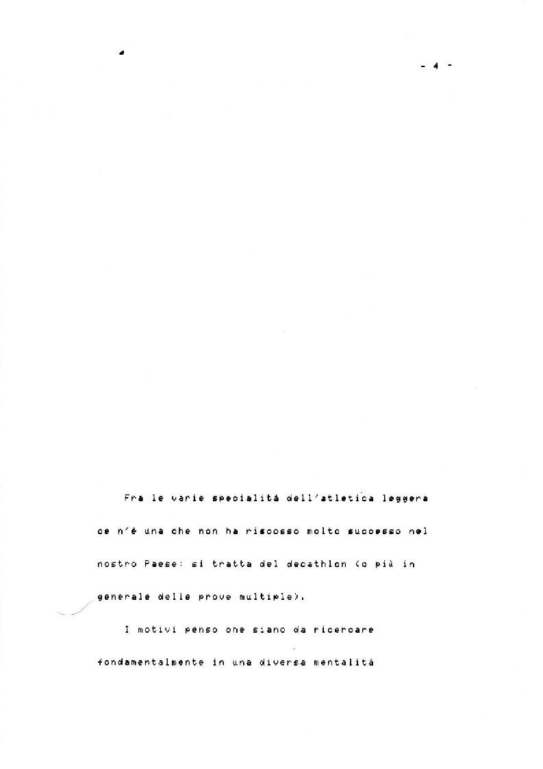 Anteprima della tesi: Il Decathlon, Pagina 3