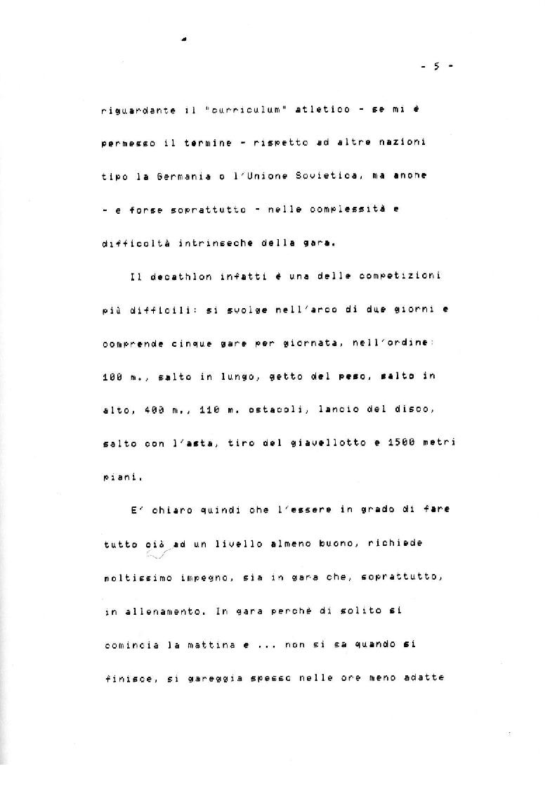 Anteprima della tesi: Il Decathlon, Pagina 4