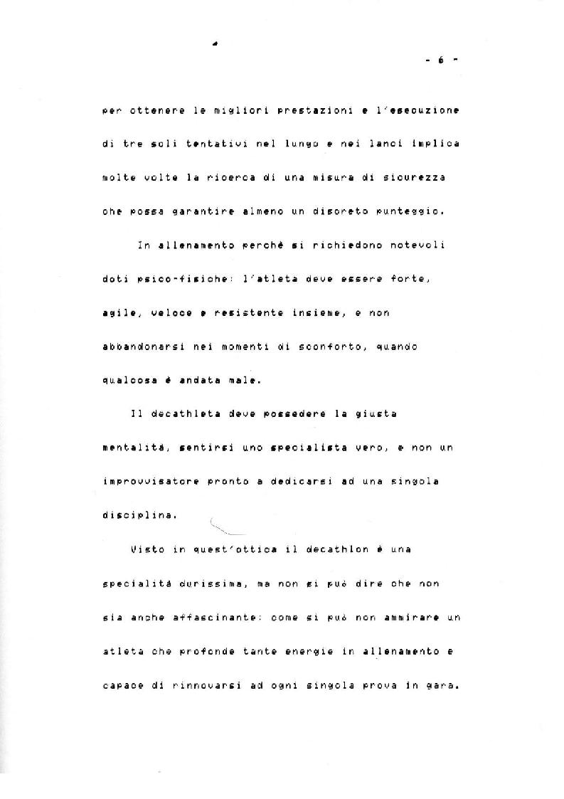 Anteprima della tesi: Il Decathlon, Pagina 5