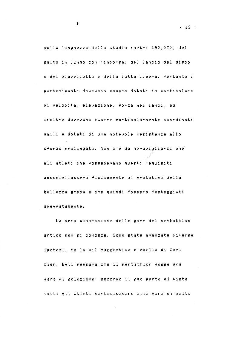 Anteprima della tesi: Il Decathlon, Pagina 9