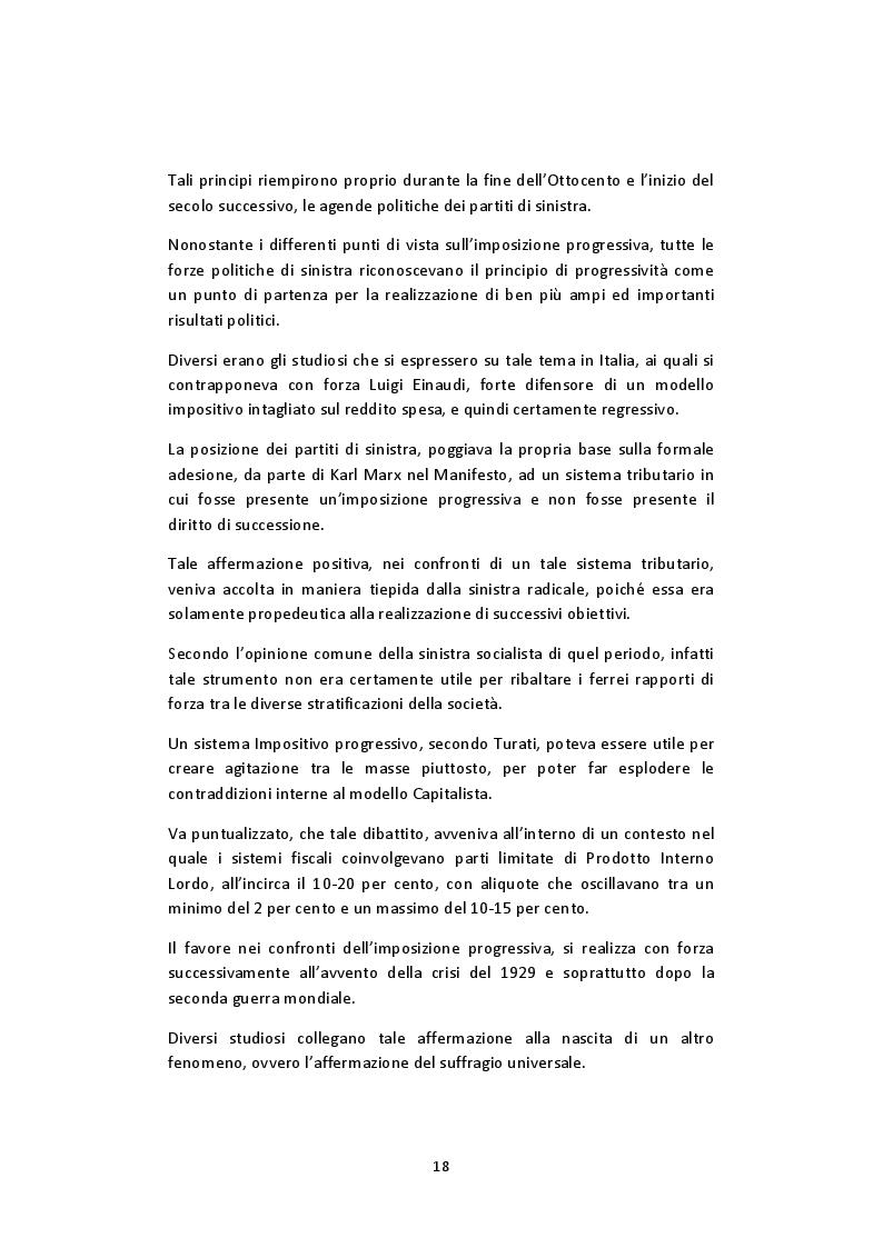 Estratto dalla tesi: L'imposta personale sul reddito nel contesto italiano: Profili Teorici Evoluzione Storica e Proposte di Modifica