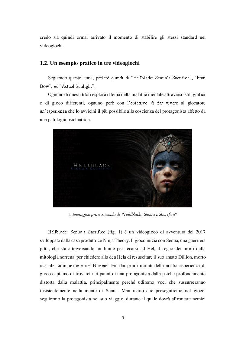 Anteprima della tesi: Videogiochi e psicologia: come le esperienze interattive contribuiscono alla conoscenza ed alla cura delle malattie mentali, Pagina 6