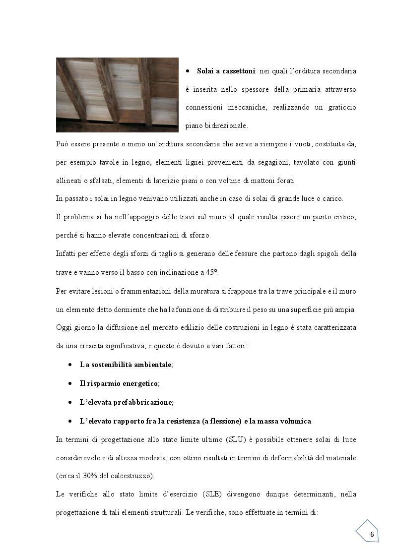 Anteprima della tesi: Progetto si un solaio  Latero-Cementizio, Pagina 5