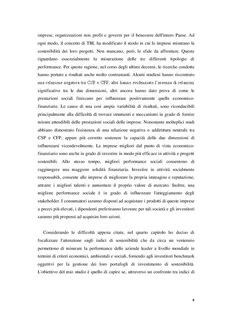 Anteprima della tesi: Corporate Social Responsibility e teoria economica, Pagina 7