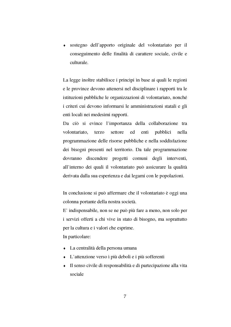 Anteprima della tesi: Il volontariato nel settore del disagio minorile: una ricerca nell'area veneziana, Pagina 14