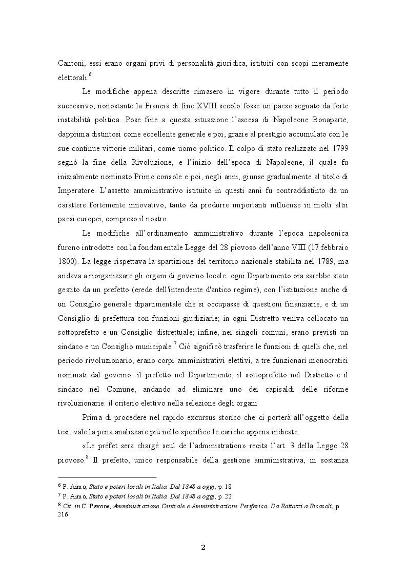 Estratto dalla tesi: L'unificazione amministrativa del Regno d'Italia: tra autonomie locali e centralismo