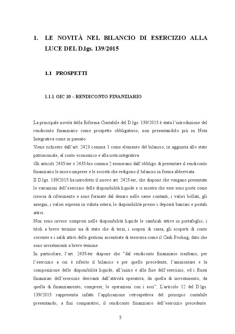 Anteprima della tesi: D.lgs. 139/2015 Il nuovo bilancio d'esercizio: Il caso Salumificio Fratelli Beretta S.p.a., Pagina 3