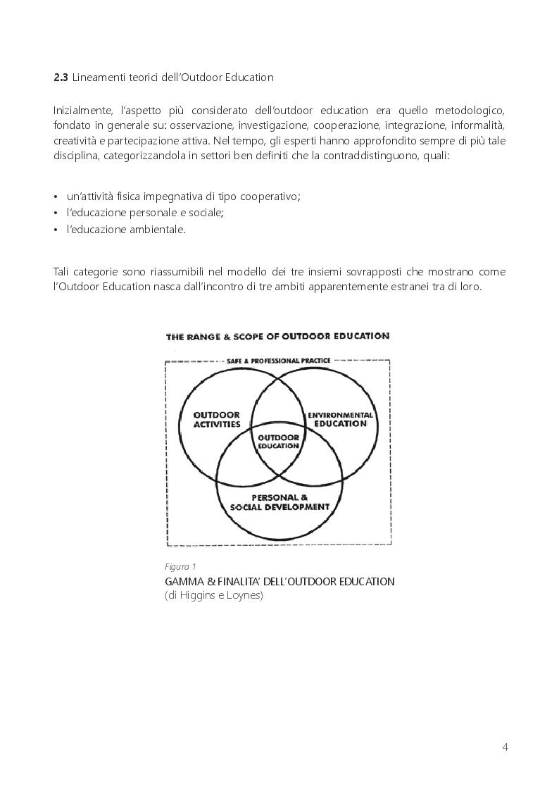 Anteprima della tesi: Il gioco libero dei bambini: tempo perso o educazione all'aperto?, Pagina 5
