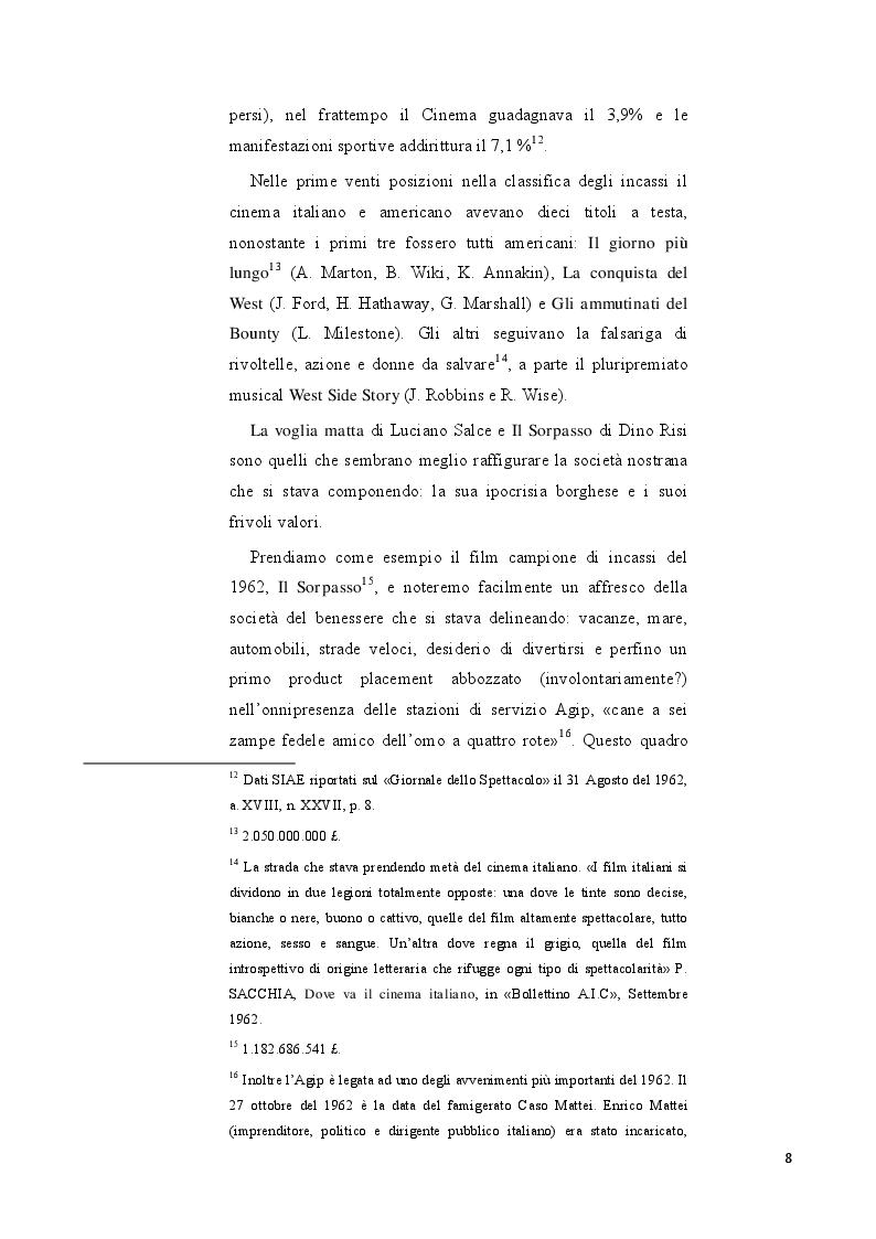 Anteprima della tesi: Strategie di distribuzione e marketing di Mamma Roma, Pagina 5