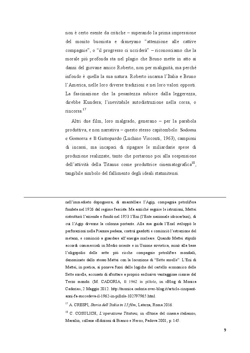 Anteprima della tesi: Strategie di distribuzione e marketing di Mamma Roma, Pagina 6