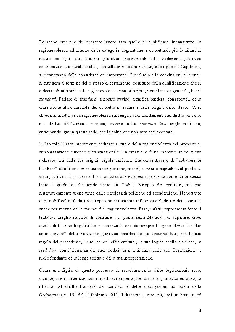 Anteprima della tesi: Lo standard di ragionevolezza, Pagina 3
