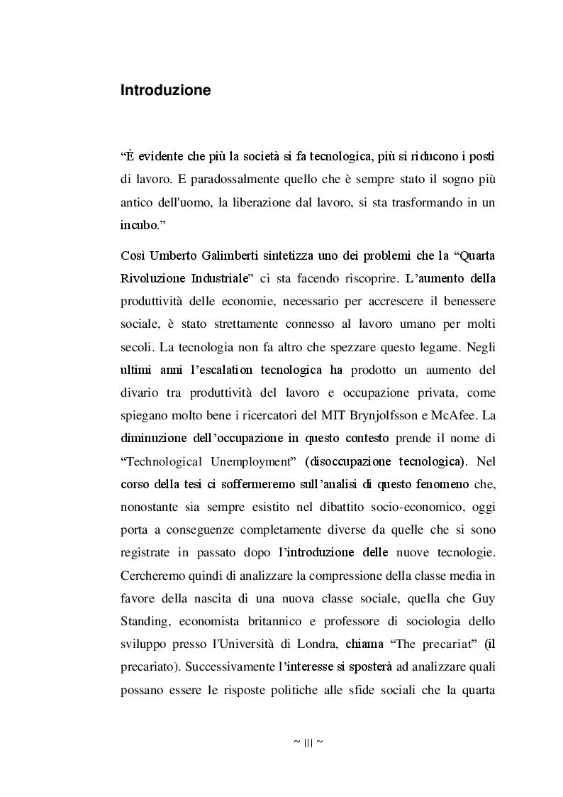 Anteprima della tesi: Disoccupazione Digitale: Cause, conseguenze e soluzioni, Pagina 2