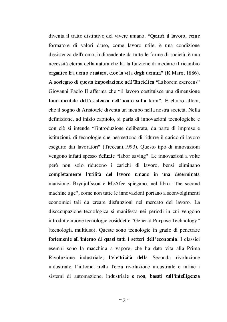 Anteprima della tesi: Disoccupazione Digitale: Cause, conseguenze e soluzioni, Pagina 5